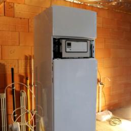 Afgewerkte boiler