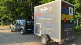 Hellinx Sani CV Mobiele Badkamer Huren